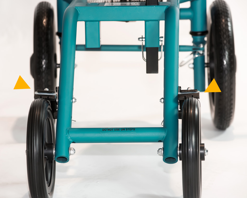 Knee walker model All-Terrain ATV-500 dual braking