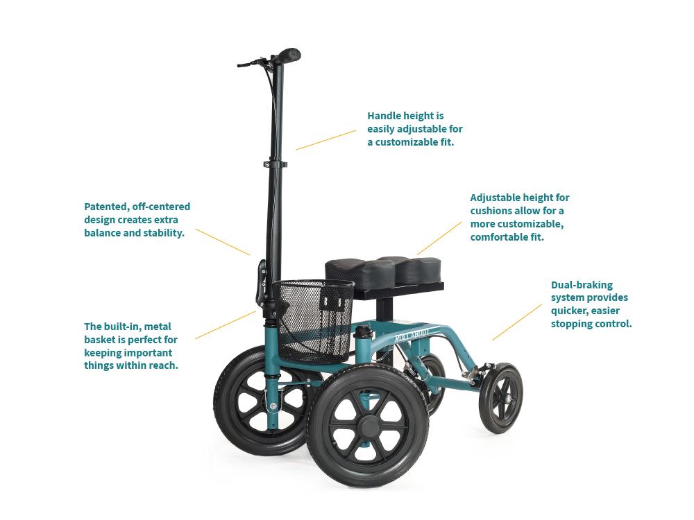 Information about the Knee walker model All-Terrain ATV-500