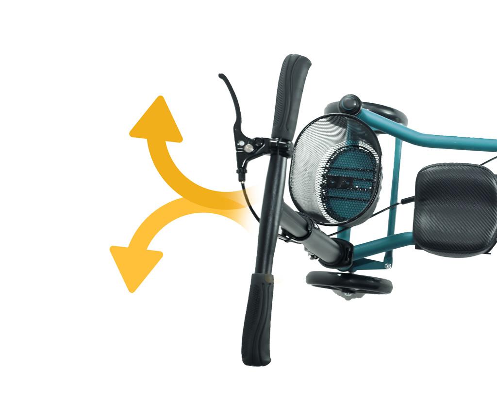 Knee walker model Steerable SW-500